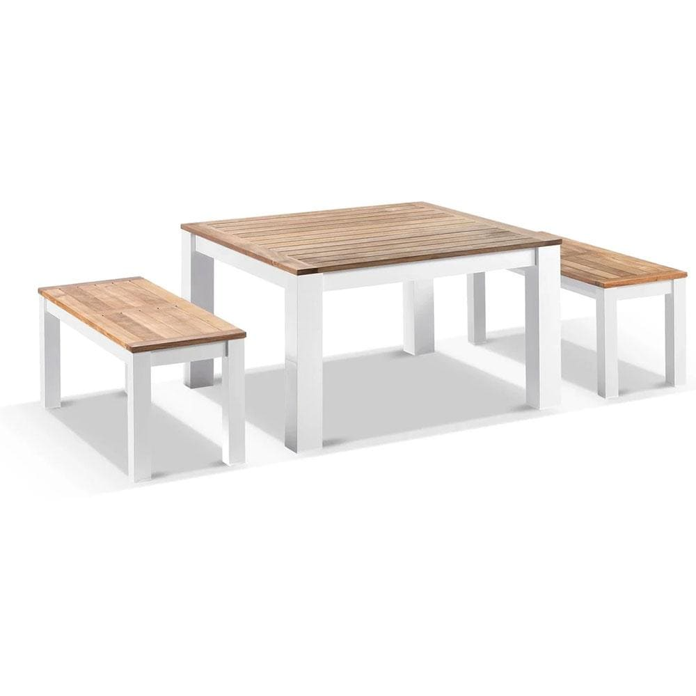 Balmoral Low Dining Coffee Table with 2 Bench Seats