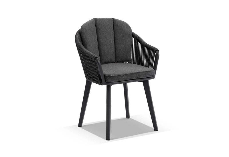 Alpine Outdoor Rope and Aluminium Dining Chair