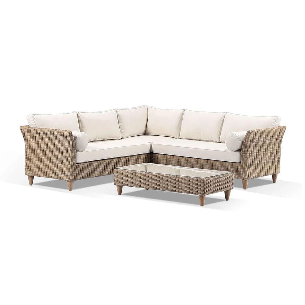 Carolina Outdoor Corner Lounge with Coffee Table