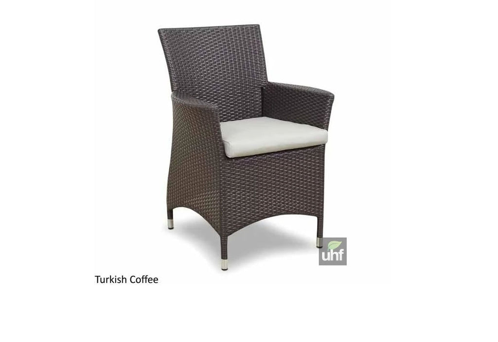Roman 6 - 7pc Outdoor Dining Set in Turkish Wicker