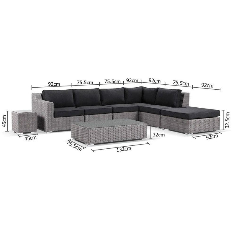 Milano Corner Chaise - Package C