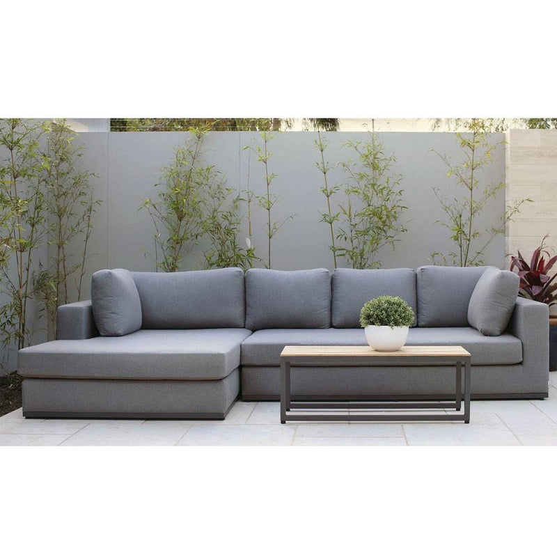 Jasper Outdoor Chaise Lounge in Sunbrella®