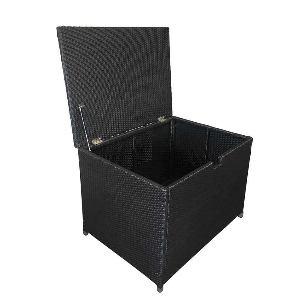 Outdoor Wicker Storage Box - Alpha