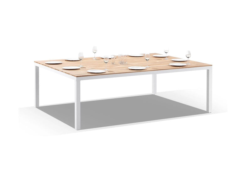 Tuscany 10 Seater Teak and Aluminium Dining Table