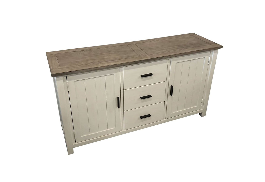 Driftwood French Provincal Indoor Timber Sideboard Buffet