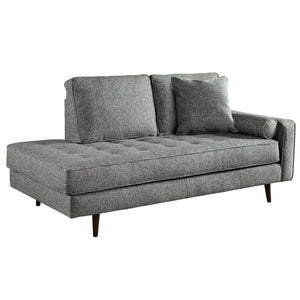 Frankie Indoor Fabric Chaise Daybed Lounge
