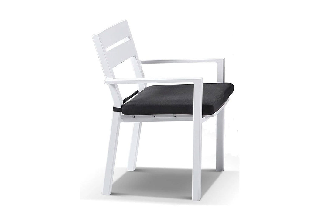 Capri Outdoor Aluminium Dining Chair