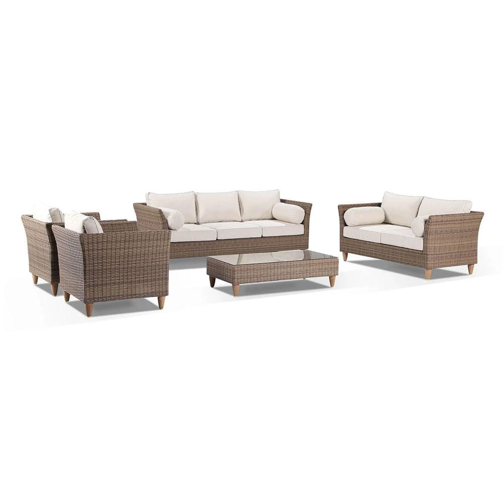 Carolina Outdoor Lounge 3+2+1+1 with Coffee Table