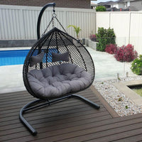 Alfie Double Hanging Egg Chair