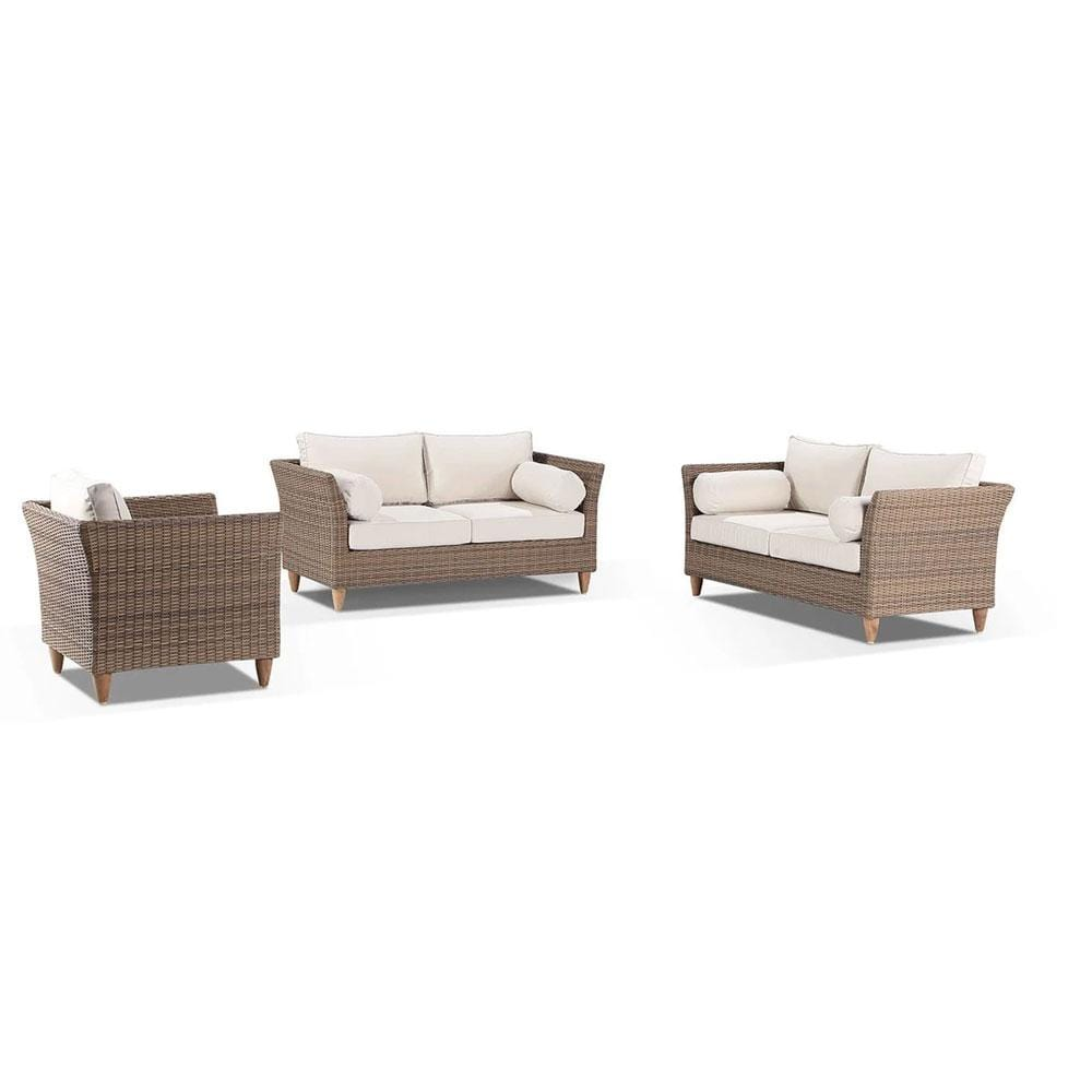 Carolina 2+2+1 - Outdoor Rattan Wicker Sofa Set