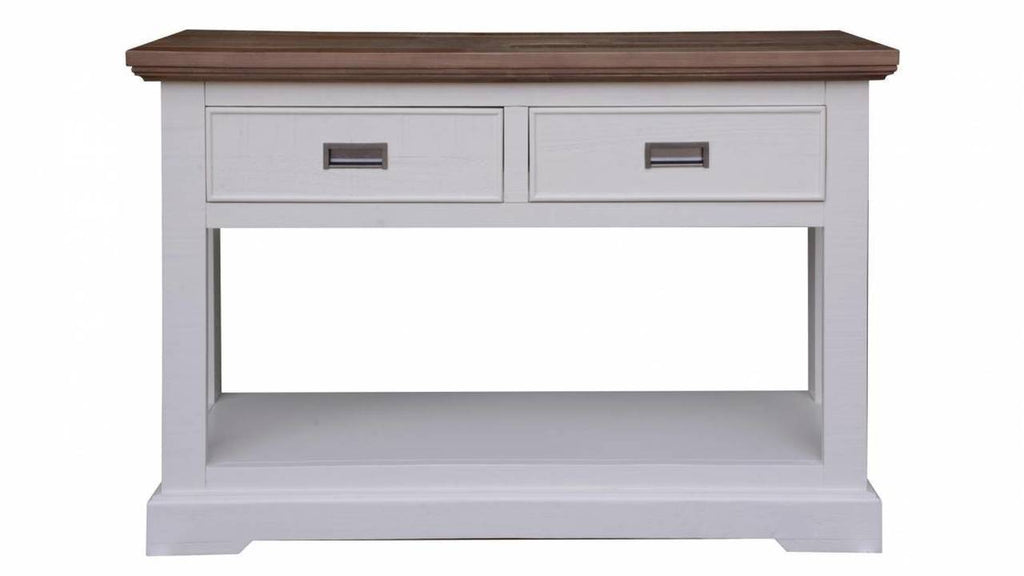 Hamptons Timber Console Hall Table