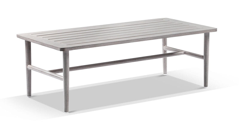 Nelson Outdoor 2+1+1 Aluminium & Rope Lounge with Coffee Table