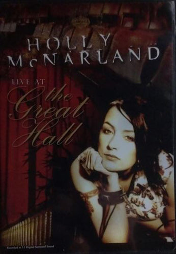 Holly McNarland - Live At The Great Hall DVD