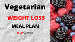 Vegetarian Meal Plan - 1600 Calories