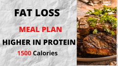 Fat Loss Meal Plan - 1500 Calories