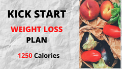 Kick Start Weight Loss Plan - 1250 Calories