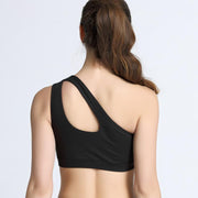 One Shoulder Sports Bra - Just Be Yoo