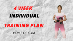 4 Weeks Individual Training Plan-Get Fit
