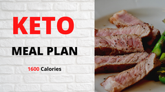 Keto Meal Plan - 1600 Calories