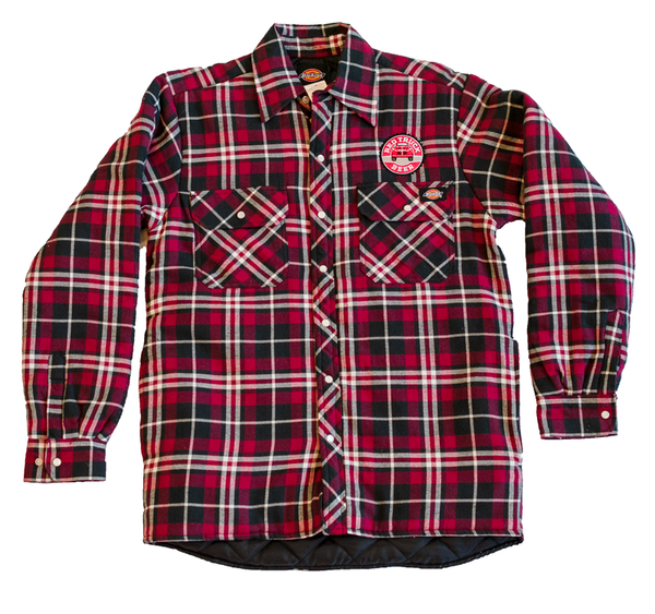 RED TRUCK FLANNEL JACKET