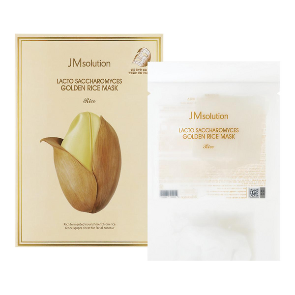 JMsolution Lacto Saccharomyces Golden Rice Mask Nourishing & Facial Contour