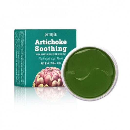 PETITFEE Artichoke Soothing Hydrogel Eye Mask 1pack (60psc)