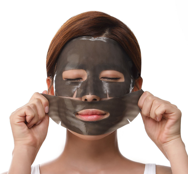 Petitfee black pearl and gold facemask face care