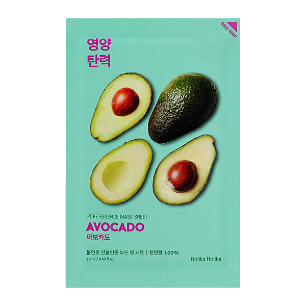 HOLIKA HOLIKA Pure Essence Sheet Mask (Avocado)
