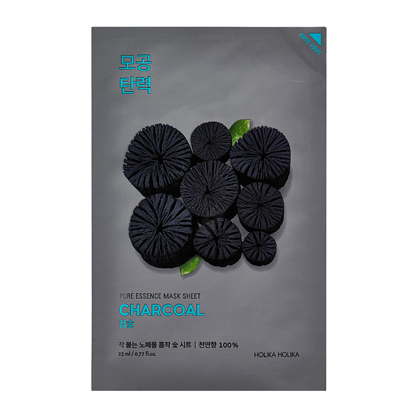 HOLIKA HOLIKA Pure Essence Sheet Mask (Charcoal)