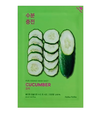 HOLIKA HOLIKA Pure Essence Sheet Mask (Cucumber)