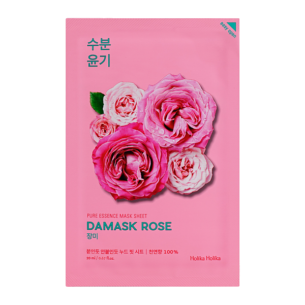 HOLIKA HOLIKA Pure Essence Sheet Mask (Damask Rose)