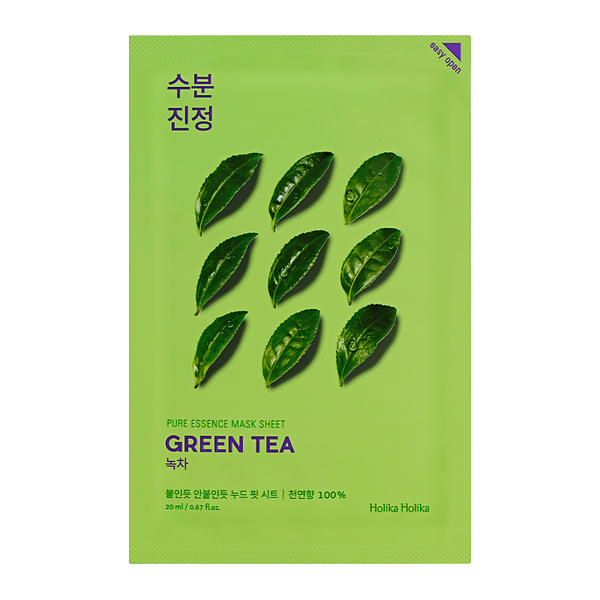 HOLIKA HOLIKA Pure Essence Sheet Mask (Green Tea)