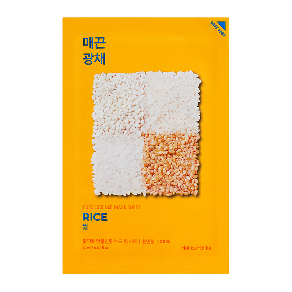 HOLIKA HOLIKA Pure Essence Sheet Mask (Rice)