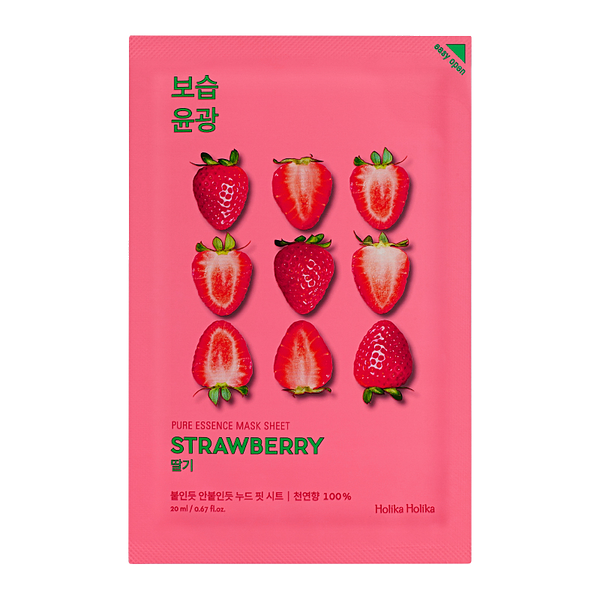 HOLIKA HOLIKA Pure Essence Sheet Mask (Strawberry)
