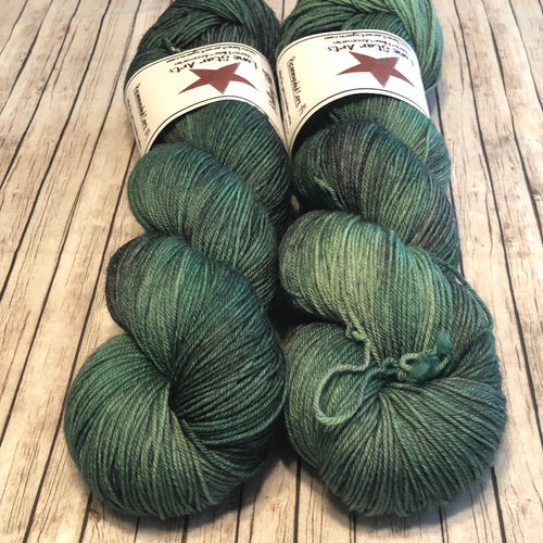 Mockingbird Sock - Rolling Hills (lot A)