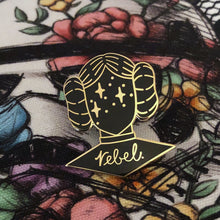 Rebel Enamel Pin