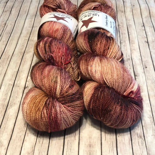 Monarch Silver Sock - Cranberry Almond