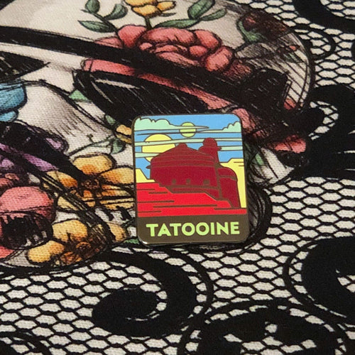 Tatooine Enamel Pin