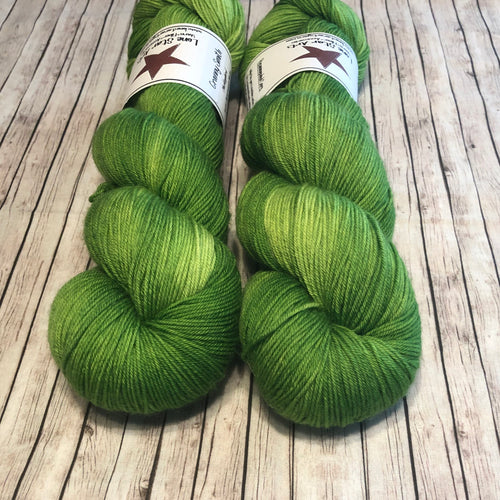 Mockingbird Sock - Granny Smith
