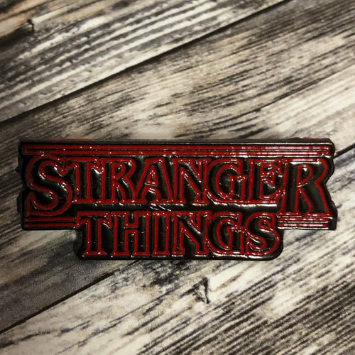 Stranger Things Inspired Enamel Pin