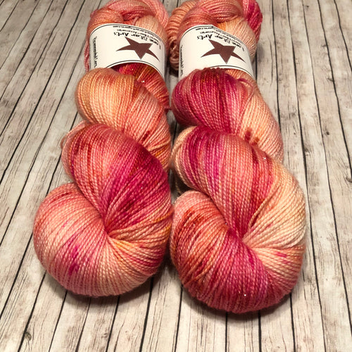 Monarch Silver Sock - Tequila Sunrise