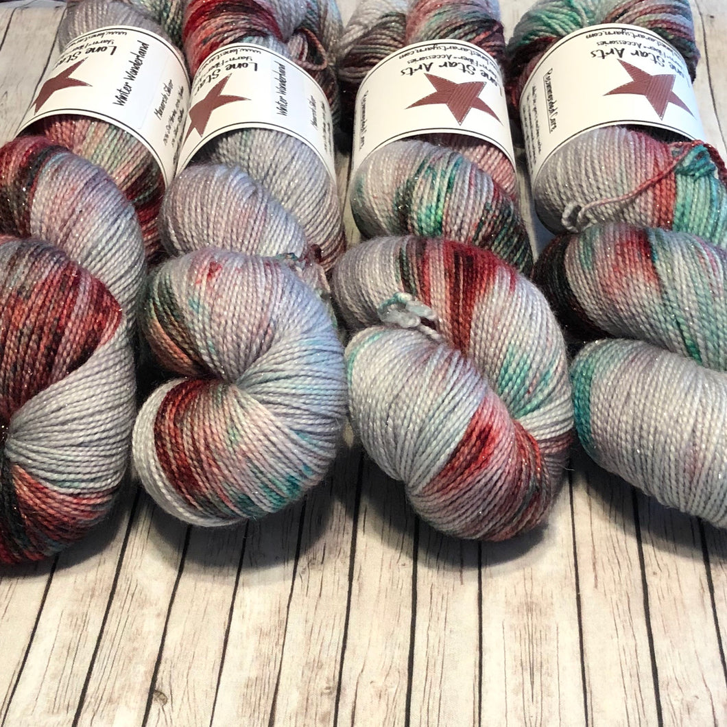 Monarch Silver Sock - Winter Wonderland