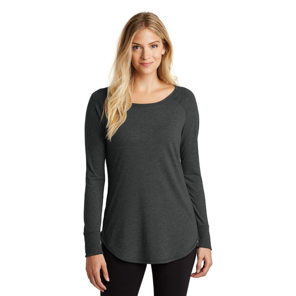 District ® Women's Perfect Tri ® Long Sleeve Tunic Tee w/ Heat Transfer