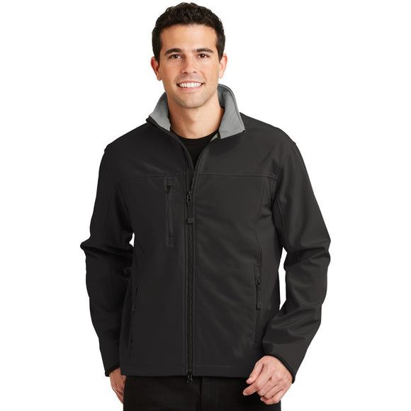 Port Authority® Glacier® Soft Shell Jacket w/ Embroidery