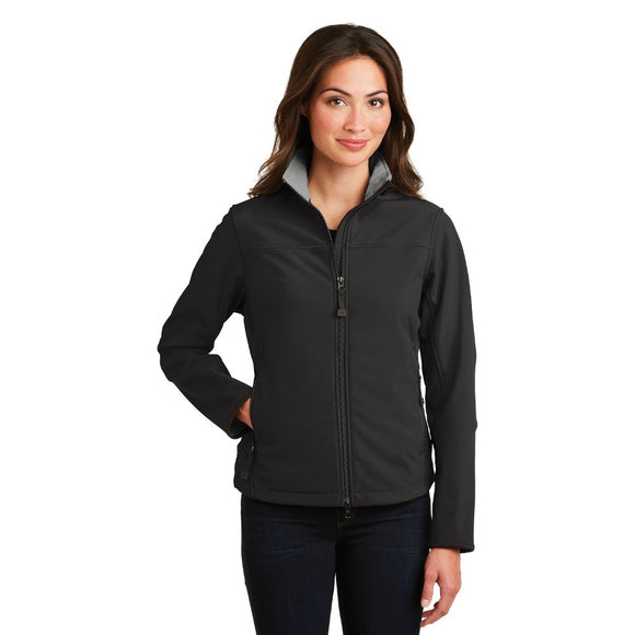 Port Authority® Ladies Glacier® Soft Shell Jacket w/ Embroidery