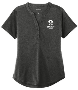 Sport-Tek ® Ladies Endeavor Henley w/Embroidery