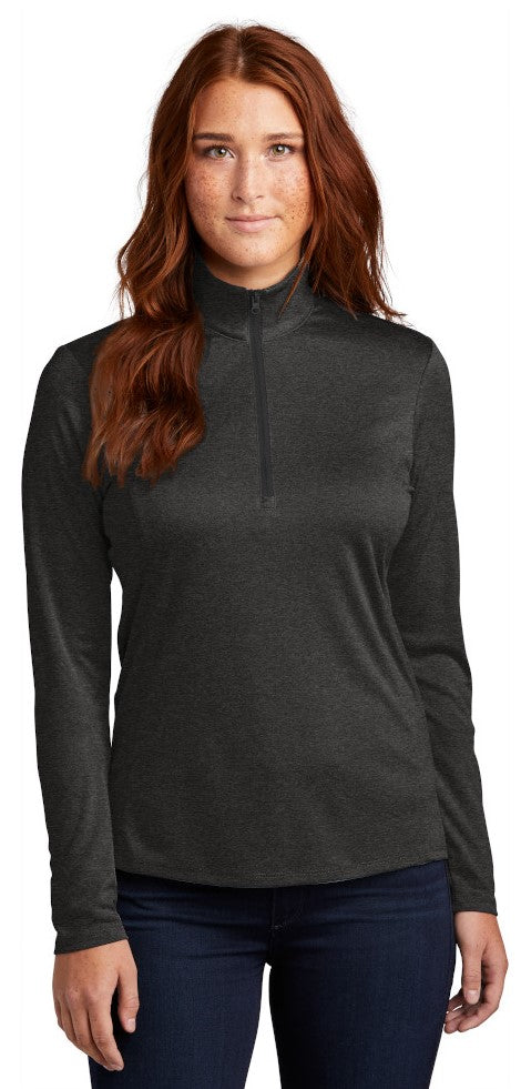 Sport-Tek ® Ladies Endeavor 1/4-Zip Pullover w/Embroidery