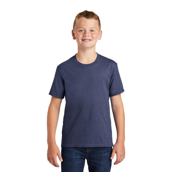 Port & Company ® Youth Fan Favorite ™ Blend Tee w/ Heat Transfer