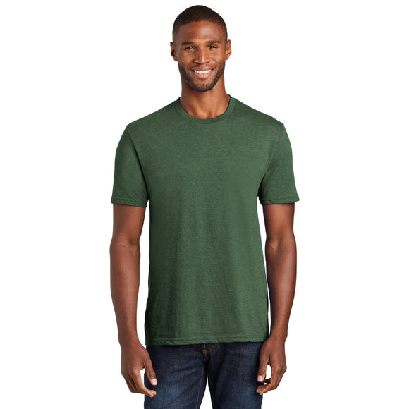 Port & Company ® Fan Favorite ™ Blend Tee w/ Heat Transfer