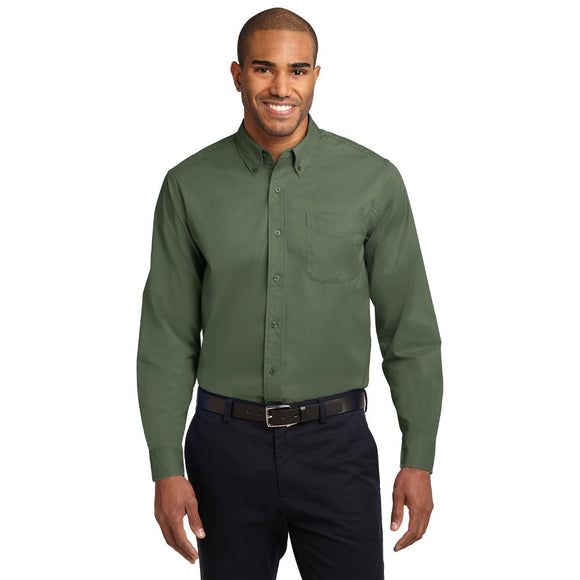 Port Authority® Long Sleeve Easy Care Shirt - Colors w/ Embroidery